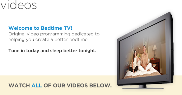 Bedtime TV - Videos to help you sleep better