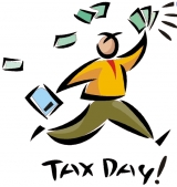 Five, Four, Three, Two, One....HAPPY TAX TIME!